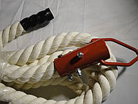 Канат в спортзал для лазанья диаметром 45 мм., длиной 6 м.