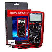 Мультиметр цифровой DT VC 61А, тестер цифровой
