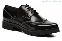 Шикарные кожаные туфли-дерби Geox Respira D Jewel E, Оригинал, фото 1