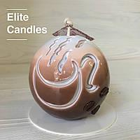 Кофейная свеча ELITE CANDLES для интерьера или подарка