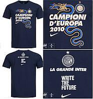100% Оригинал Футболка мужская синяя Inter Milan от Nike