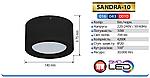 SANDRA-10 Светильник светодиодный (10 Вт накладной), фото 2