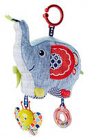 Мягкая игрушка-подвеска Слоник Fisher-Price (DYF88)
