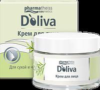 D'Oliva Крем для лица с маслами миндаля, авокадо и ростков пшеницы 50 мл