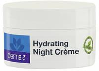 Миниатюра увлажняющий ночной крем с гиалуроновой кислотой *Derma E (США)*