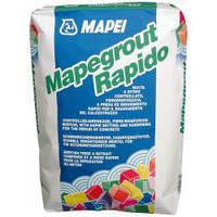 Быстросхватыващийся и быстросохнущий армированный фиброй состав для ремонта бетона Mapegrout Fast-Set (Rapido)