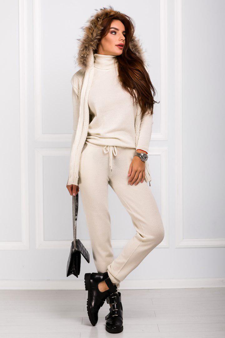 женский вязаный спортивный костюм 1405219 цена 1 022 грн купить в