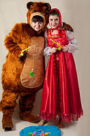 Маша и Медведь на детском празднике