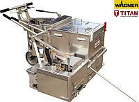 Машина для нанесения дорожной разметки термопластиком TITAN (Wagner)ThermoMark 250 - 2 пост