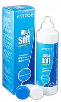 Многофункциональный раствор AVIZOR Aqua Soft Comfort 350 мл.