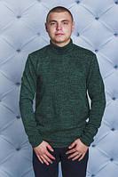 Мужской гольф, водолазка 44-62р-ры  зеленая, фото 1