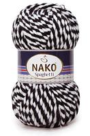 """Пряжа Nako Spaghetti """"3086"""" для Ручного Вязания"""