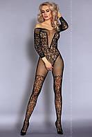 Сексуальный черный бодистокинг NURYA от Livia Corsetti