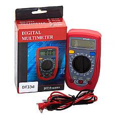 Мультиметр цифровой DT UT33D, тестер цифровой