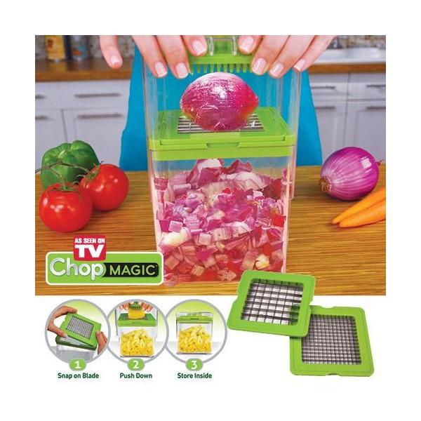 Измельчитель продуктов Овощерезка Chop Magic (24) DV - Домашний магазин в Одессе