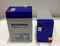 Аккумулятор 6V 4.5Ah  Bossman profi 3FM4,5 - LA645, фото 1