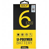 Аккумулятор GOLF iPhone 6S plus Battery 2750 mAh Black