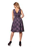 Платье в клетку 1056 SL