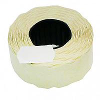 Ценник фигурный белый, 26*12 , тип N1