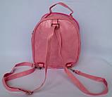 Детские сумки-рюкзак для девочки с мультяшками 16*17 см, фото 3