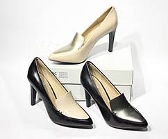 Шикарные кожаные туфли-лодочки Geox Respira D Caroline, Оригинал