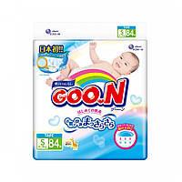 Подгузники S для детей 4-8 кг унисекс 84 шт  Goo.N (853074)