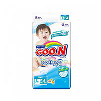 Подгузники L для детей 9-14 кг унисекс 54 шт  Goo.N (853076)