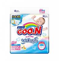 Подгузники S для новорожденных до 5 кг унисекс  90 шт Goo.N (853073)