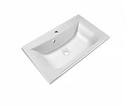 Раковина врезная для ванной (искусственный мрамор/ 75*45 см) STYLE