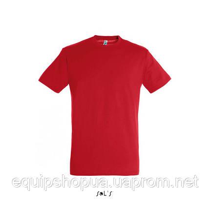 Футболка SOL'S REGENT-11380 Красный, S, фото 2