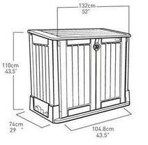 Ящик для хранения Store-It-Out Midi 845 л, фото 2