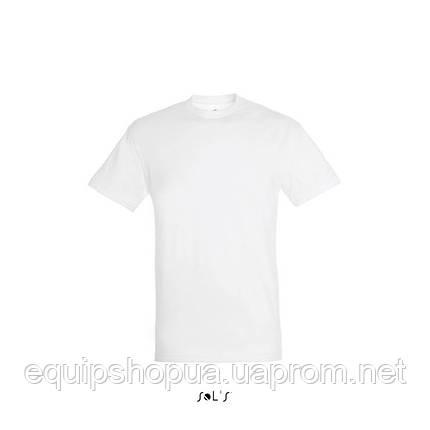 Футболка SOL'S REGENT-11380 Белый, S, фото 2
