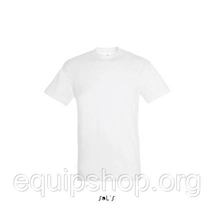 Футболка SOL'S REGENT-11380 Белый, L, фото 2