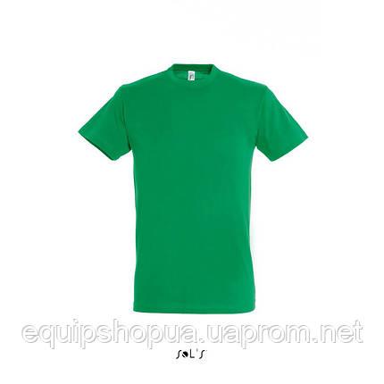 Футболка SOL'S REGENT-11380 Зелёный, XL, фото 2