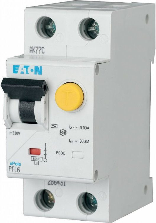 Дифавтомат EATON PFL6-40/1N/C/003 (286471)