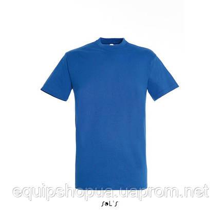 Футболка SOL'S REGENT-11380 Синий, XL, фото 2