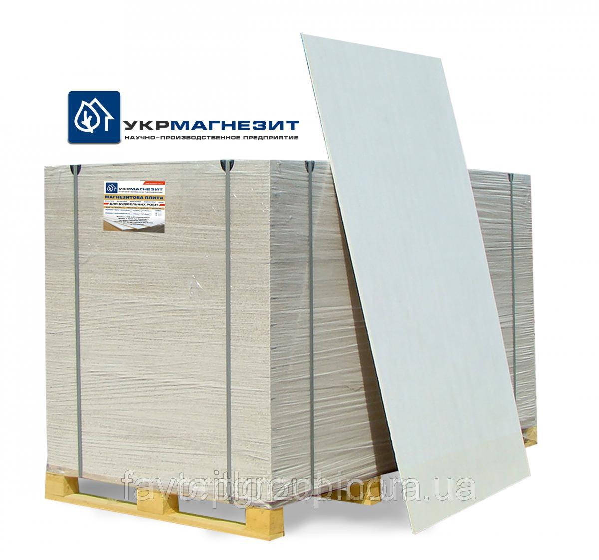 Магнезитовая плита Укрмагнезит Фасад 2 сорт 10х1200х2400 мм