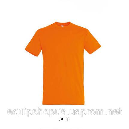 Футболка SOL'S REGENT-11380 Оранжевый, XL, фото 2