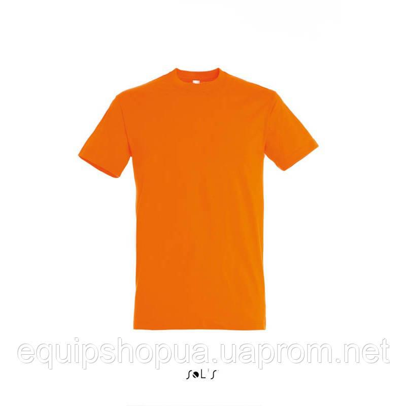 Футболка SOL'S REGENT-11380 Оранжевый, XXL