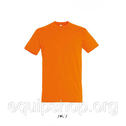 Футболка SOL'S REGENT-11380 Оранжевый, XXL, фото 2