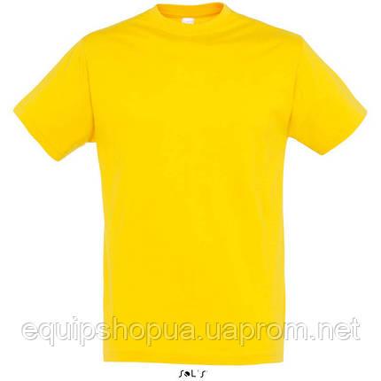 Футболка SOL'S REGENT-11380 Жёлтый, S, фото 2