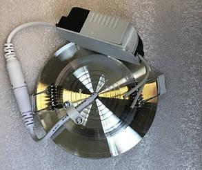 Светодиодная панель SL272030 5W 4000K кругл. хром  Код.59201, фото 2
