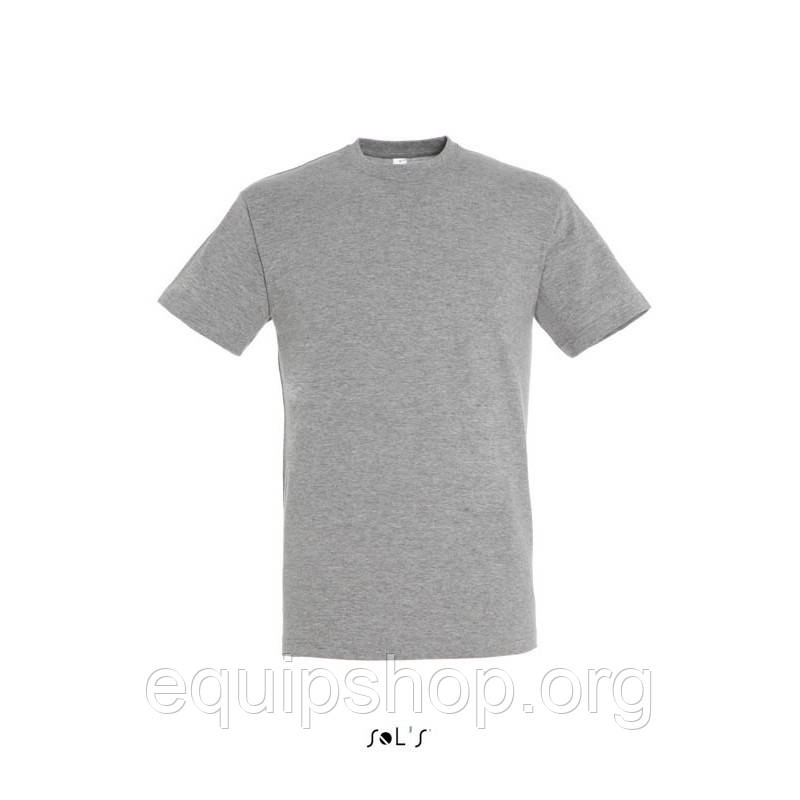 Футболка SOL'S REGENT-11380 Серый-меланж, XL