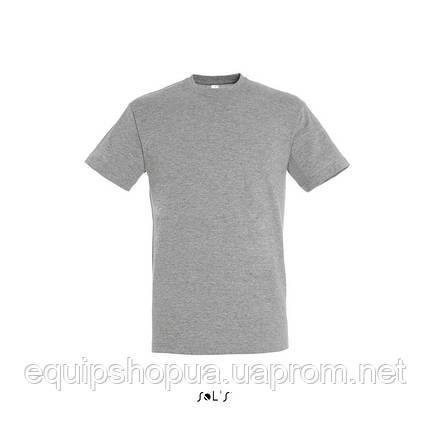 Футболка SOL'S REGENT-11380 Серый-меланж, XL, фото 2