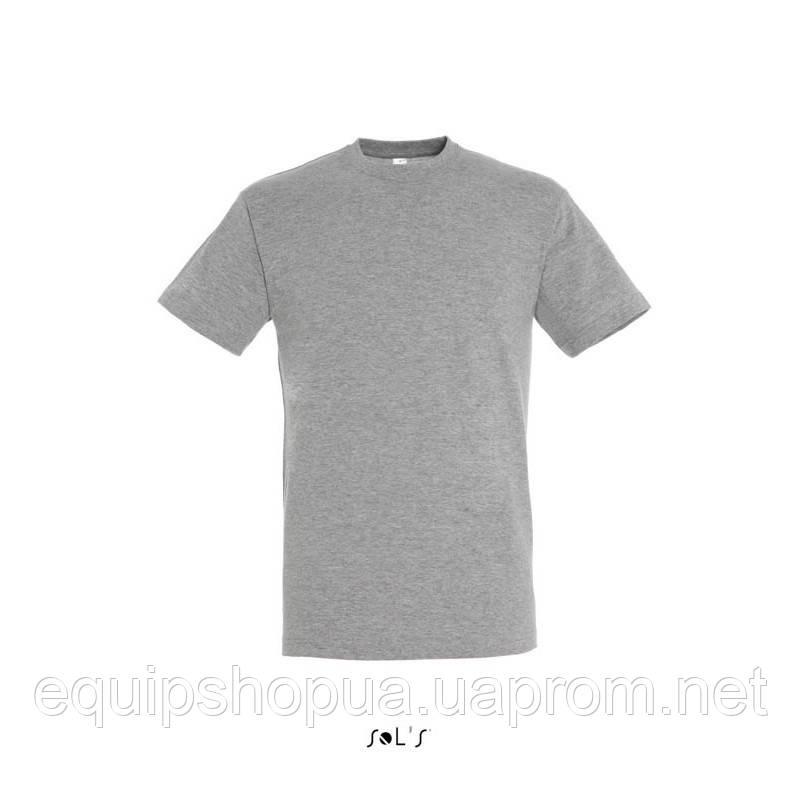 Футболка SOL'S REGENT-11380 Серый-меланж, 3XL