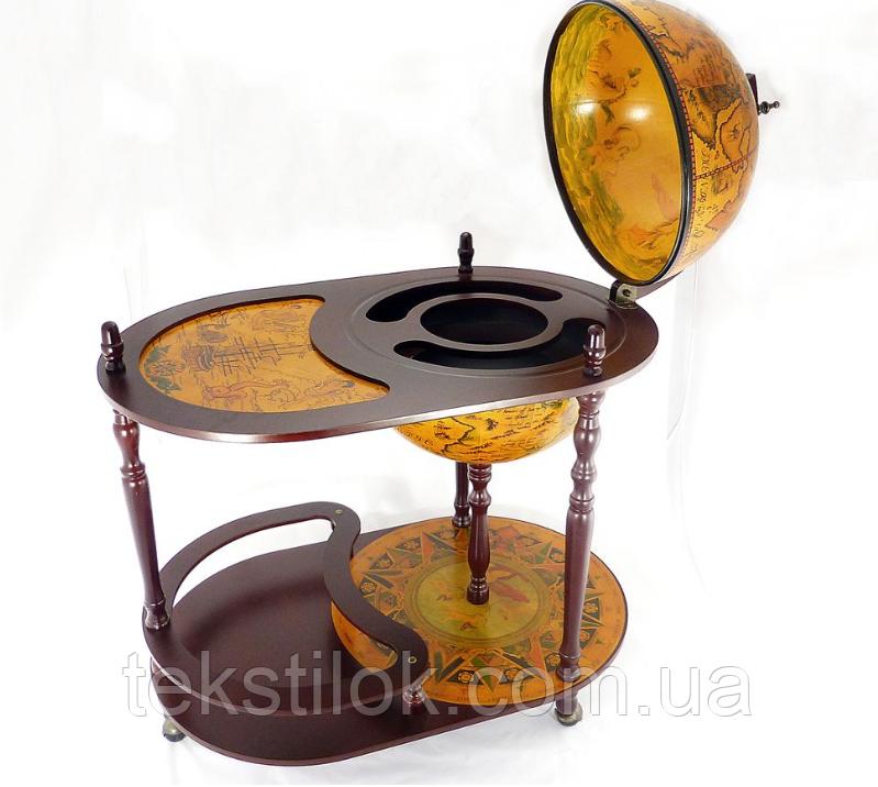 Глобус бар со столиком 420 мм – Континент
