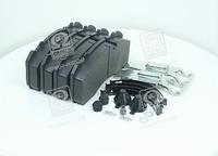 Колодка торм. диск. (компл. на ось) BPW, IVECO, MAN 2000,TGM, MB ATEGO, SAF (RIDER)  RD 29095PRO