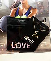 Подвеска сердце LOVE от Victoria's secret (на цепочке) в чехле, оригинал из США