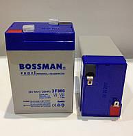 Аккумулятор 6V 6Ah  Bossman profi 3FM6 - LA660, фото 1