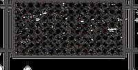 Забор из металлической сетки 1,5 х 2,5 | Цена на забор из сетки от изготовителя, фото 1